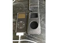 2GB iPod Nano with Gear4 leather case