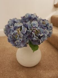 Artificial flowers - hydrangeas