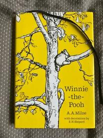 Winnie the Pooh hardback book