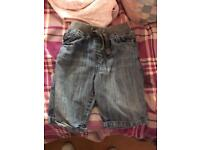 Boys age 3/4 shorts and jeans