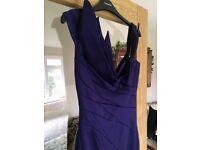 Stunning Karen Millen Signature Folded Cocktail Dress - Size 10