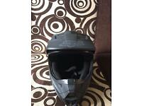 Helmet with glove set £70