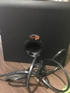 Klipsch promedia 2.1 subwoofer and speakers