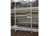 Heras fence panel gates 2 sizes available READ DESCRIPTION