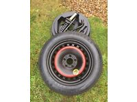 SPARE WHEEL / SPACE SAVER - FORD C-MAX / FOCUS - NEW