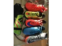 Kids Football and Astro Boots