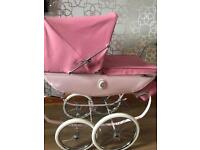 Kids silver cross pram