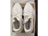 All white yeezys v2. 100% authentic still with tags on and in original box