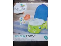 Brand new in box child's training toilet