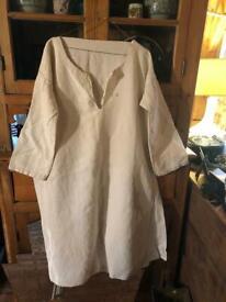 French vintage antique cotton dresses