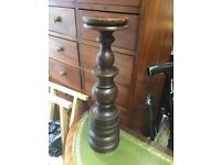 Inndonesian, solid wood candlestick