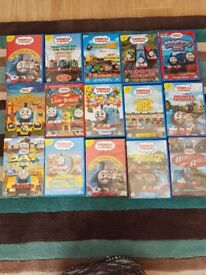 15 - Thomas the Tank DVD's multi collection (very good condition)