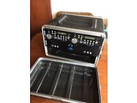 DJ Equipment - Rack-Mount Flight Case and SoundLab G064GG CD Player