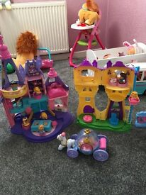 Little people princess castle and more