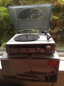 Bush single deck record player
