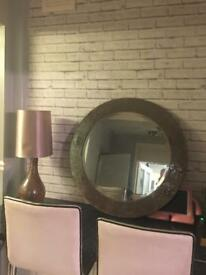 Next mirror and Lamp