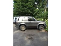 2002 Commercial Isuzu Trooper
