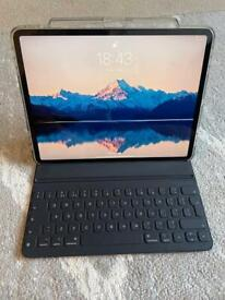 iPad Pro 12.9 3rd Gen - 64 GB WiFi - Official Keyboard Folio included
