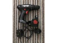 Drill driver with battery & charger