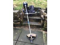 Macallister petrol strimmer and harness