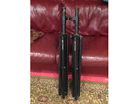 Pair of Citronic heavy duty PA Speaker stands