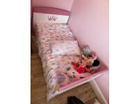 Princess cot bed