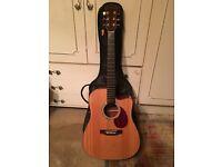 Freshman APOLLO 3 DC Acoustic Guitar Including Case