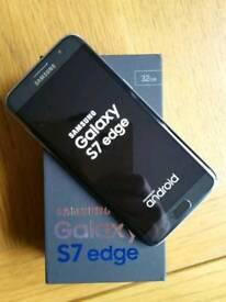 Samsung galaxy S7 Edge Black Unlocked Very Good Condition