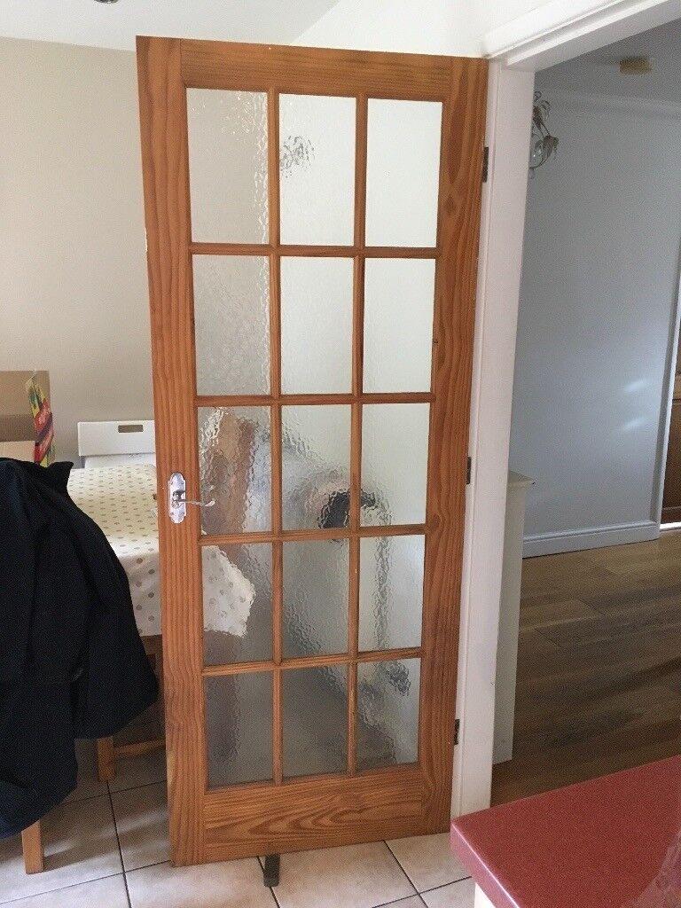 9 X Internal Wood Doors 1 Glass Internal Door In Derby