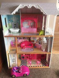 Huge Barbie doll house