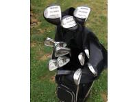Hippo Plus Oversize Ultralite Flex golf clubs and bag