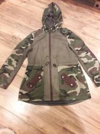Miss Selfridge coat with hood
