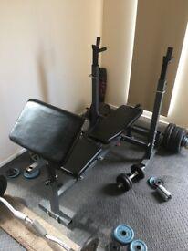 Heavy duty bench