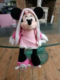 Mini mouse soft toy. Large