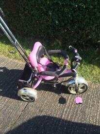Child's pink funky trike