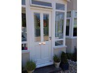 Hardwood Glazed Exterior Door