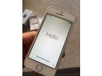 iPhone SE 16gb silver locked to EE,