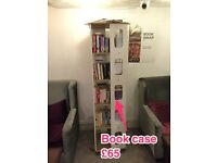 Creative Rotatable Book Shelf