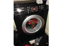 Bosch black washing machine