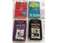 Selection of paperback books for age 9-11