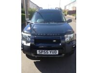 LAND ROVER - FREELANDER - 2006 on 55plate - BLACK- MOTd FULL YEAR. - EXCELLENT CONDITION