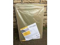 Diall Wood Fibreboard Underlay (part packet) - covers 6.5 metres squared. New.