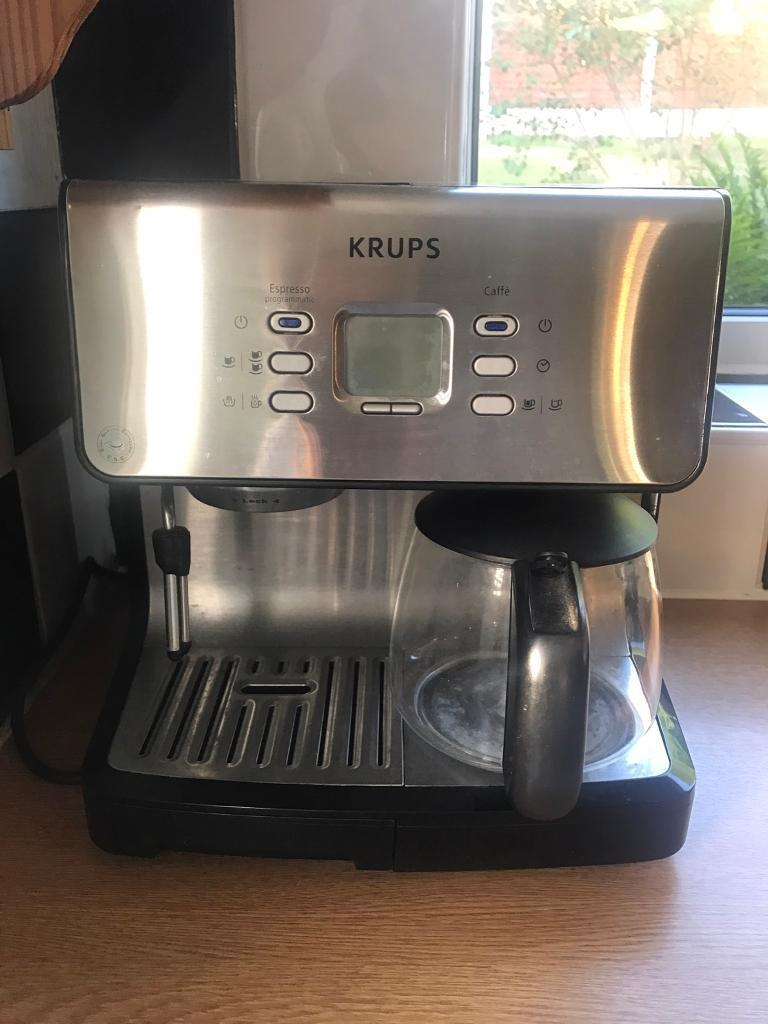 Krups Coffee Machine With Manual In Cookridge West Yorkshire Gumtree