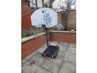 Basketball hoop, free standing by Pro Action. Can be disassembled for transportation