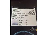 2 Rihanna tickets standing