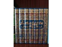 "Islamic books Hadith sahih Muslim commentary by Imam Nawawi"" 7 complete volume NEW"