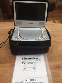 "TWO PORTABLE 7""LCD MONITOR AND DVD PLAYERS"