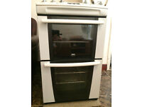 Zanussi/Electolux Ceramic Double Oven Electric Cooker (with 55 cm width)