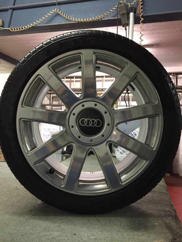 """Audi 18"""" TT alloys"""