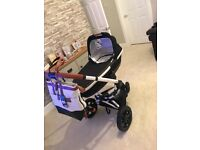 Extremely Rare Limited Edition Quinny Moodd Rachael Zoe Pram